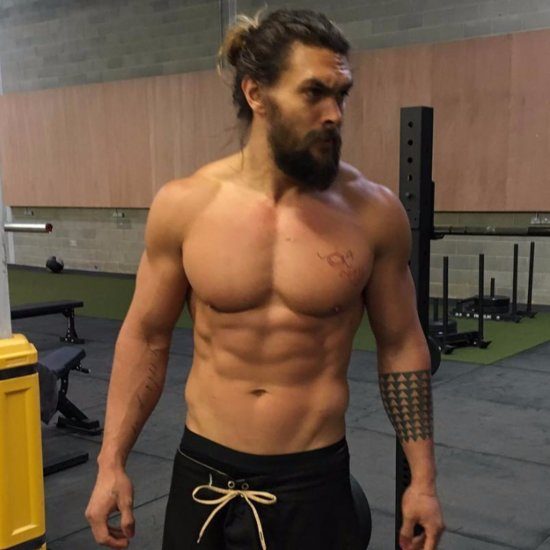 Shirtless Jason Momoa Pictures