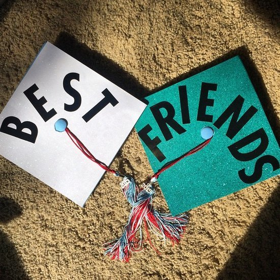 Best Friend Grad Caps