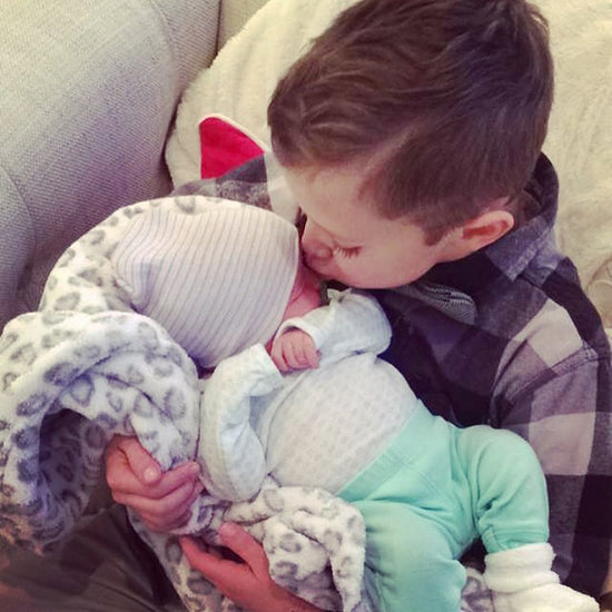Bristol Palin Shares Adorable Photo of Son Tripp Kissing Baby Sister Sailor Grace on Her First Day Home from Hospital