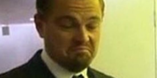 Leonardo DiCaprio Taking A Selfie Is Beyond Entertaining