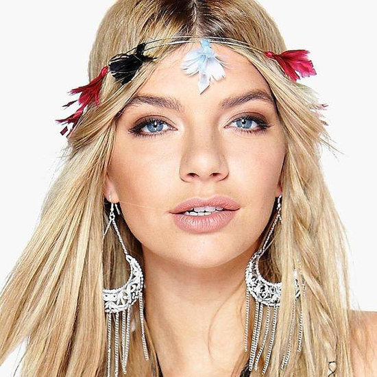These Feathers Make For Fun Festival Hair Accessories