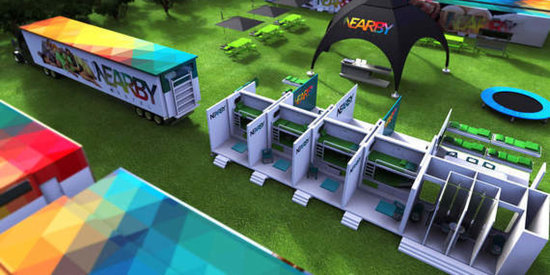 Nearby: The World's First Mobile Hostel for Music Festivals