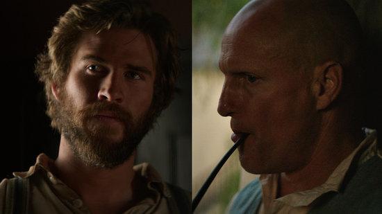 Liam Hemsworth Rocks an Epic Beard as a Scruffy Cowboy on a Mission in 'The Duel'