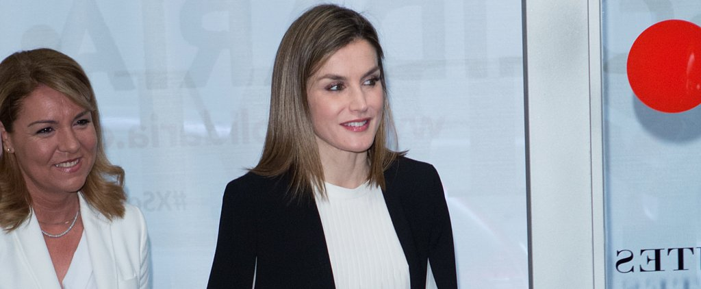 Queen Letizia Just Schooled Everyone on How to Make Work Trousers Impossibly Chic