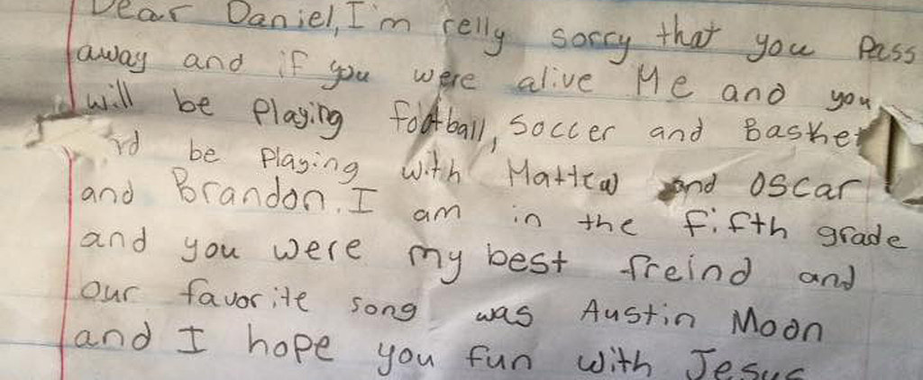 This Little Boy Never Expected Anyone to Discover His Heartbreaking Message For His Best Friend