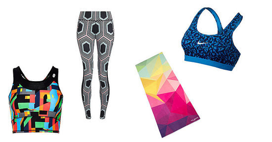Geometric-Printed Workout Clothes to Rock During Your Next Sweat Sesh