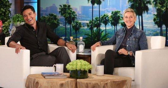 Mario Lopez Hints To Ellen He Might Be Michael Strahen's Replacement