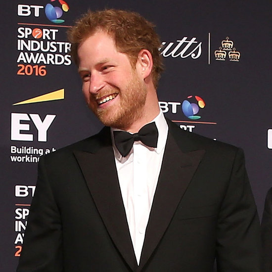 Prince Harry at Sport Industry Awards April 2016