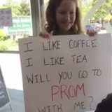 The Meaning Behind This Promposal at a Coffee Shop Is Actually Too Sweet For Words