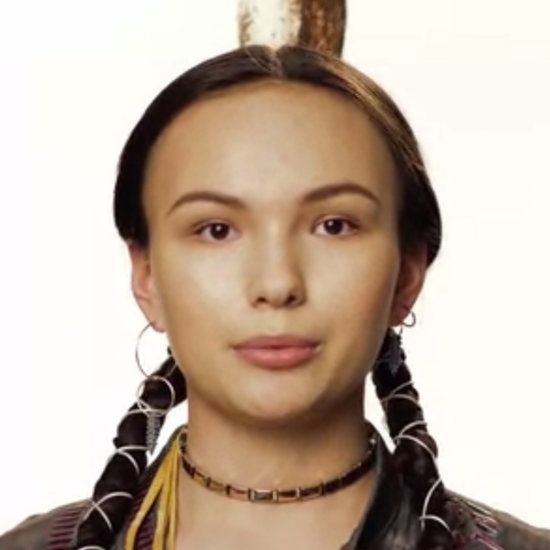 Model Talks About Native American Fashion (Video)