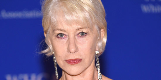 Helen Mirren Paid Tribute To Prince With A Purple Dress And A Fake Tattoo
