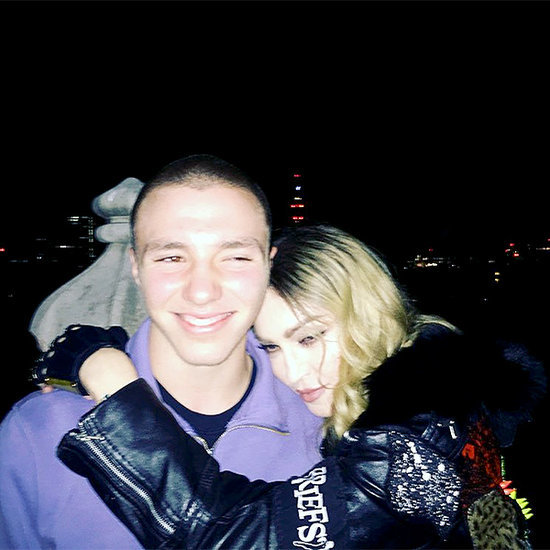 Madonna Reunites with Son Rocco - See the Adorable Photo