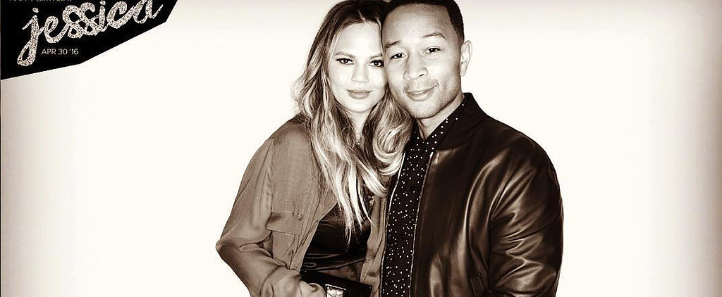 "Chrissy Teigen ""Hulked"" Out of Her Dress at Jessica Alba's Birthday Party"
