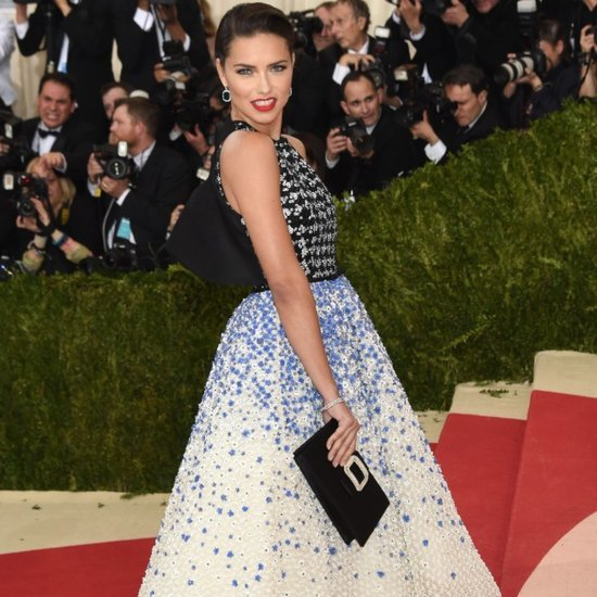 Adriana Lima Giambattista Valli Dress at Met Gala 2016