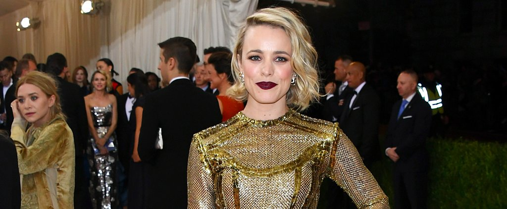 Rachel McAdams Didn't Just Wear a Gown to the Met Gala — She Wore a Full Fashion Experience