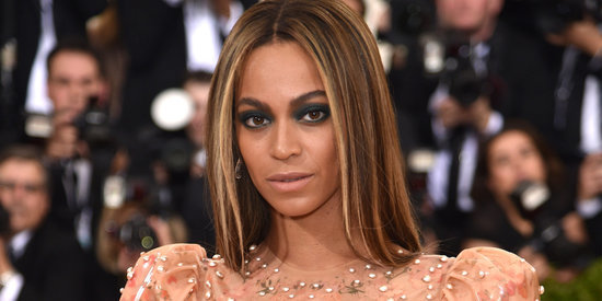 Beyoncé Wears A Nude Latex Gown To The 2016 Met Gala