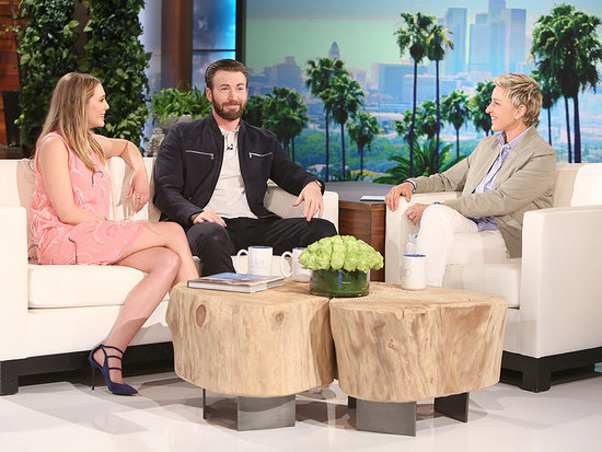 Chris Evans and Elizabeth Olsen Address Dating Rumors: 'We're Actually Engaged'