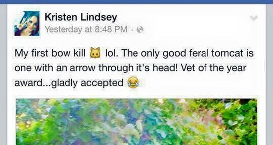 The Cat-Killing Bowhunter Vet: It's Worse Than I'd Thought
