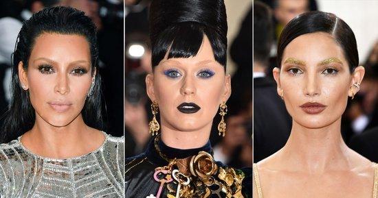 Met Gala 2016: Kim Kardashian, Lily Aldridge and Katy Perry Lightened Their Brows