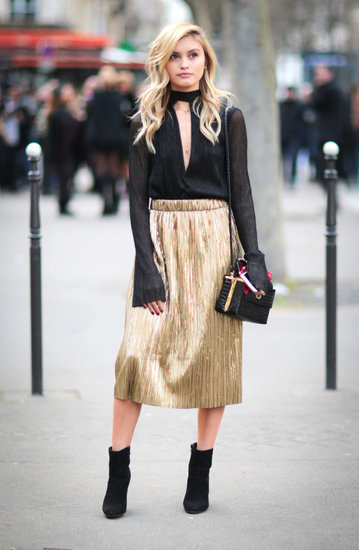 How To Nail The Metallic Trend