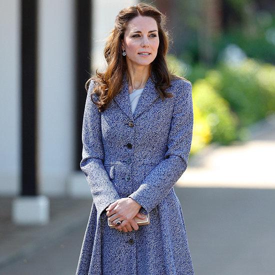 Kate Middleton in Michael Kors Coat   May 2016