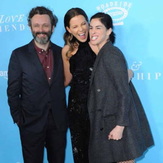 Kate Beckinsale With Michael Sheen and Sarah Silverman 2016