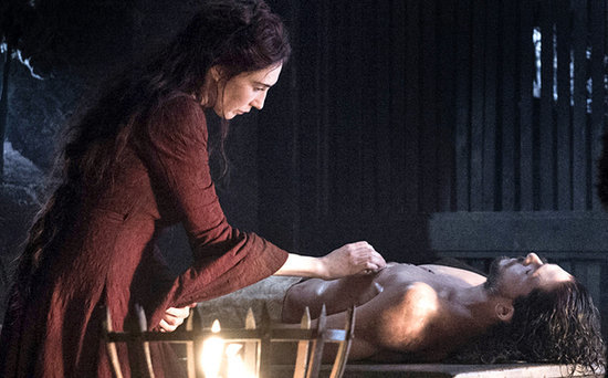 FROM EW: Kit Harington Says Carice van Houten Had to Wash His Naked Body 50 Times for Game of Thrones Resurrection Scene