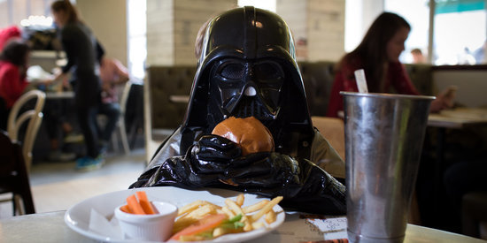 This 4-Year-Old Darth Vader Is Wickedly Adorable