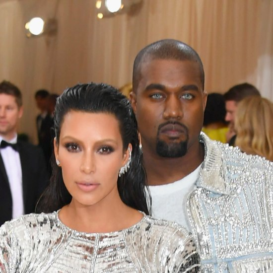 Kanye West Got Cheeky With Kim Kardashian After the Met Gala