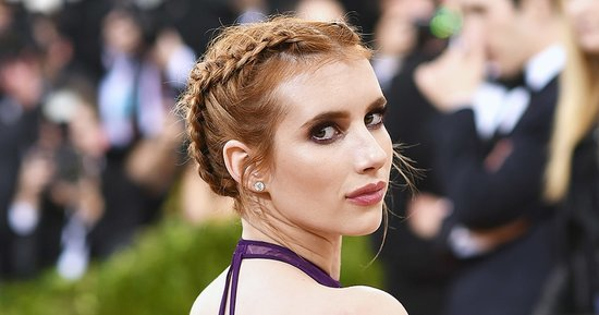 Emma Roberts Is Still Wearing Her Met Gala 2016 Updo Two Days Later