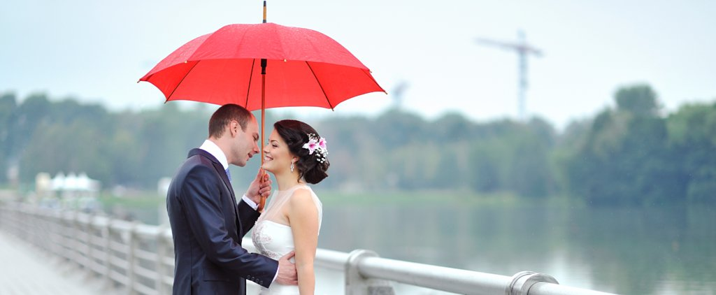 Not Even a Hurricane Could Ruin This Gorgeous Wedding Day