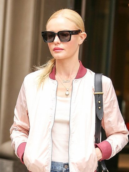 The Cutest New Way to Wear a Bomber Jacket