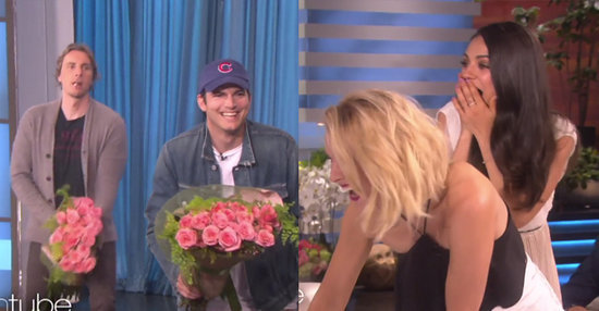 Dax Shepard And Ashton Kutcher Surprised Kristen Bell And Mila Kunis And Oh My God