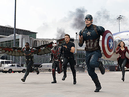WATCH: Captain America: Civil War Earns Spot in Top 5 Opening Weekends of All Time