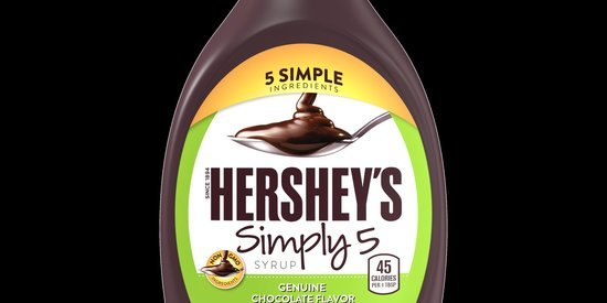 New Hershey's Syrup Has Just 5 Ingredients