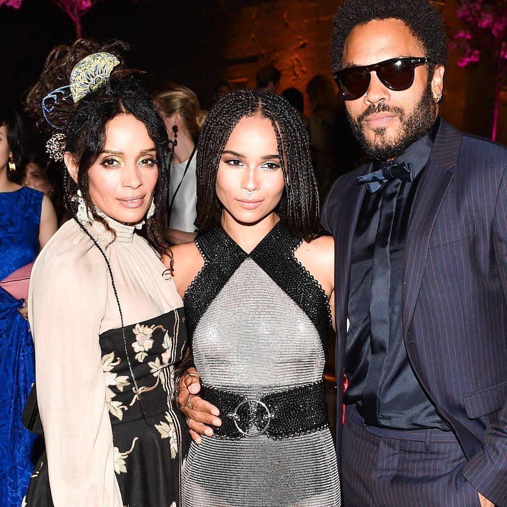 Lisa Bonet And Jason Momoa At The Mad Max Premiere: Zoe Kravitz With Her Parents Pictures