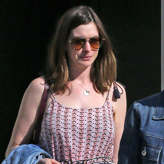 Anne Hathaway After Giving Birth to Baby Jonathan May 2016