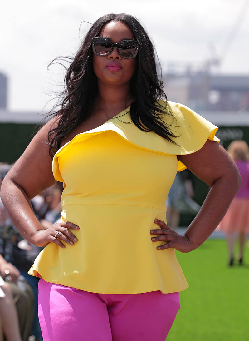 """Plus-Size Model Precious Lee Calls Out Fashion Industry: """"The Excuses Have Run Out�"""