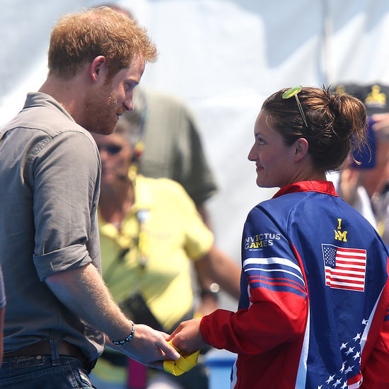 Veteran Returns Medal to Prince Harry (Video)