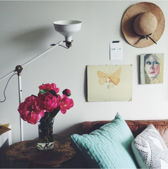 How to Display Peonies at Home
