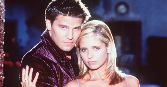 Sarah Michelle Gellar Wishes 'Buffy the Vampire Slayer' Costar David Boreanaz a Happy Birthday With Throwback Pics: 'Immortality