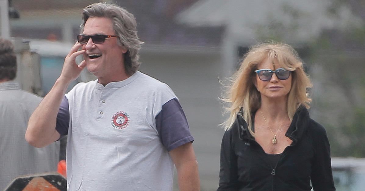 Goldie Hawn and Kurt R...