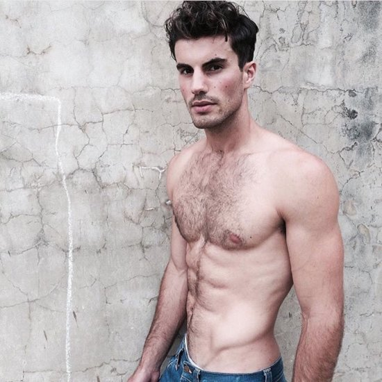 Shirtless Male Model Photo