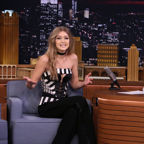 Gigi Hadid on Jimmy Fallon May 2016