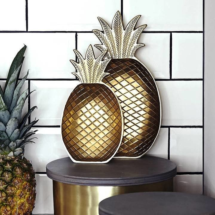 pineapple home decor ideas popsugar home uk