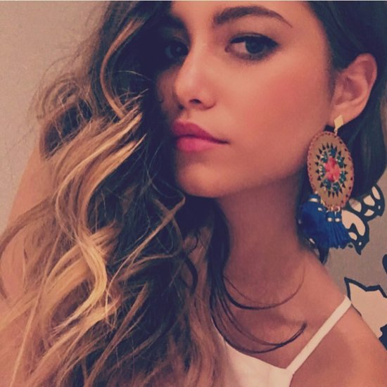 Sofia Reyes's Statement Earrings at 50 Mas Bellos Party 2016