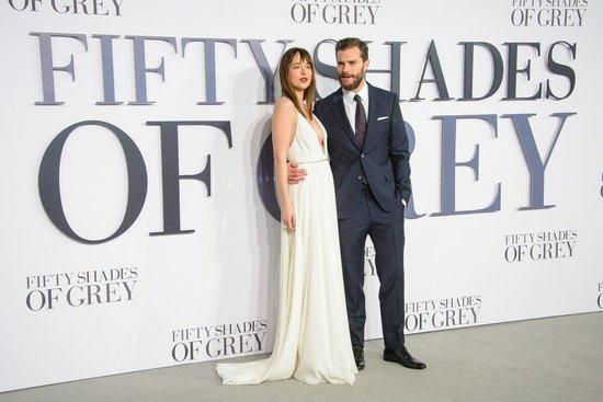 Dakota Johnson and Jamie Dornan Rumored to Be Filming Christian and Ana's Wedding Scene