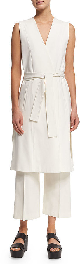 Vince Tailored-Fit Pleated Culottes ($295)