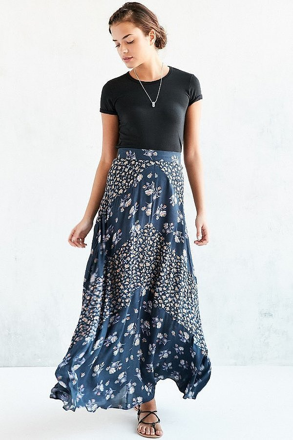 Kimchi & Blue Floral Maxi Skirt ($89)