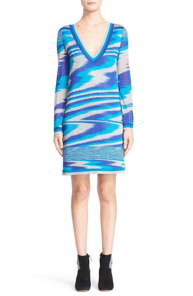Missoni Long Sleeve Knit Dress ($1,170)